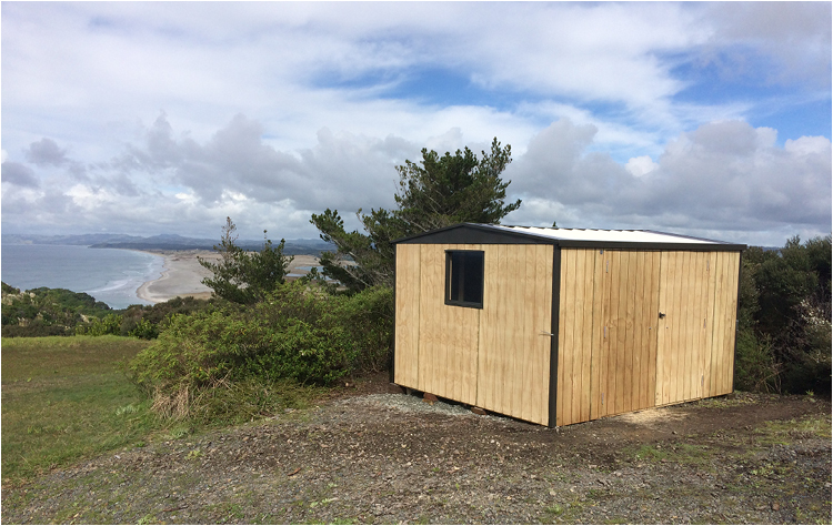 Timber Clad Shed