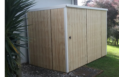 timber clad shed - Wooden Garden Sheds Nz