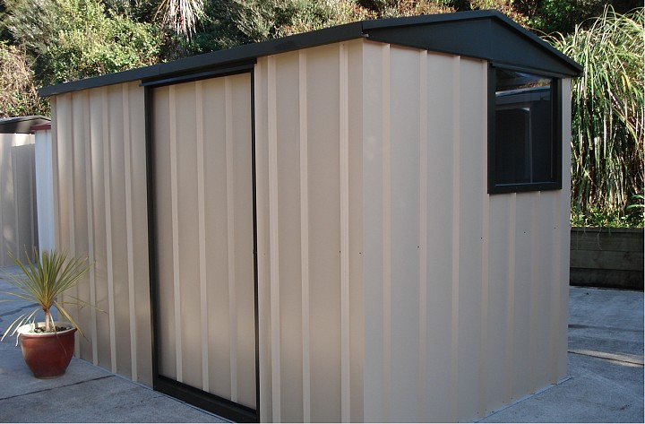 Pre-Painted Steel Sheds